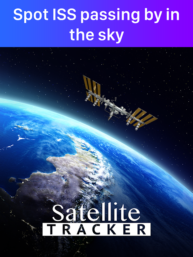 Satellite Tracker 🛰 Find Satellites in the Sky- screenshot