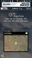 Screenshot of KCBD First Alert Weather