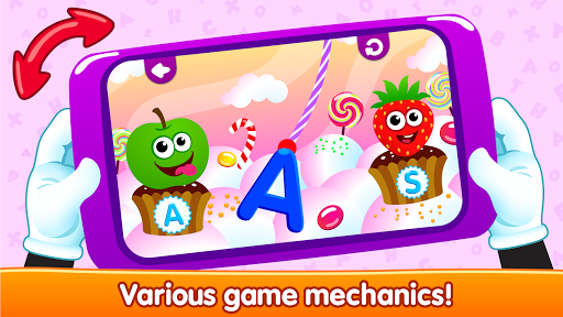 Funny Food ABC games for toddlers and babies - screenshot