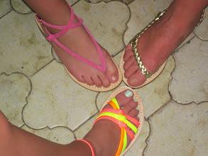 Photo: Custom made sandals in Sorrento