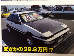 スプリンタートレノ AE86 GT-APEX 昭和62年3月生のカスタム事例画像 拓人さんの2019年08月27日16:23の投稿