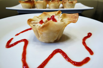Photo: This weeks craving is Crab Wontons  - A cute little wonton wrapper stuffed with crab, cream cheese, mayo and seasonings.  http://www.peanutbutterandpeppers.com/2012/12/02/weekly-recap-13/  #crab   #crabwonton   #pfchangs   #appetizer   #wontonwrappers