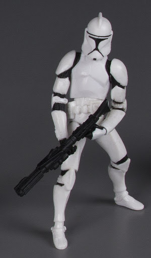 Action figure:Star Wars Clone Wars: Clone Trooper IV - Clone Trooper Army