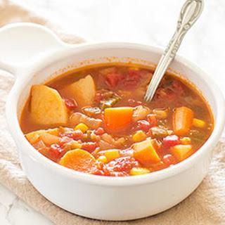 Mexican Vegan Veggie Stew.