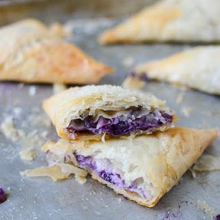 Blueberry Phyllo Dough Turnovers Recipe