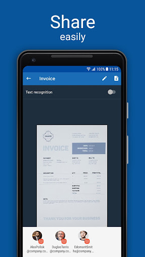 Scanner App for Me: Scan Documents to PDF 1.5 screenshots 5