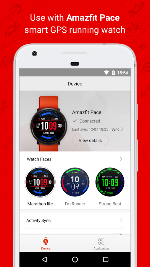 Amazfit Watch- screenshot
