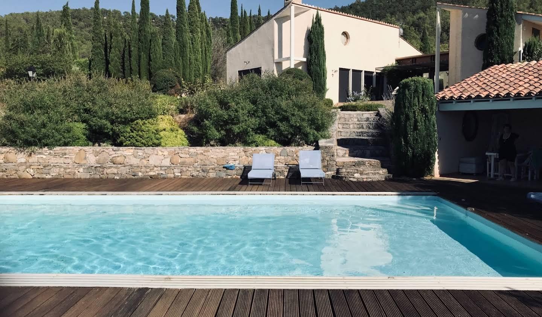Villa avec piscine et jardin Lagrasse