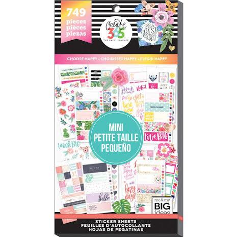 Me & My Big Ideas Happy Planner Sticker Value Pack - MINI Choose Happy
