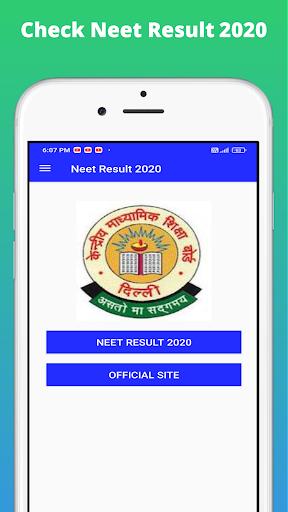 Neet Result 2020 App, Check NEET 2020 Result screenshot 3
