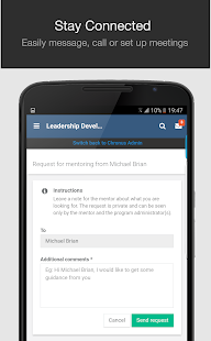 Chronus - Mobile Mentoring- screenshot thumbnail