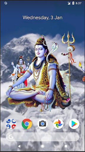 4D Shiva Live Wallpaper 11.0 screenshots 1