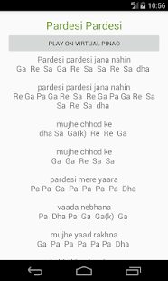 Sargam Piano Notes - náhled