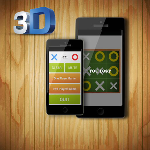 The X O Game Tic Toc 3d