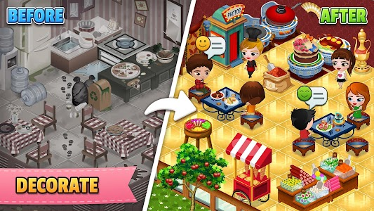 Cafeland - World Kitchen 2.0.33 (Unlimited Money)