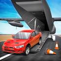 Cargo Plane Car transporter 3D icon