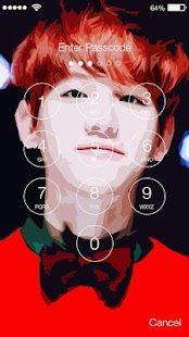Kpop Exo Lock Screen - náhled
