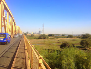 Photo: Omdurman Bridge over the Nile