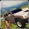 Monstre Jeep Montagne Entraîne