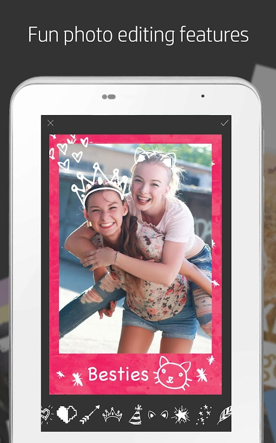 HP Sprocket- screenshot