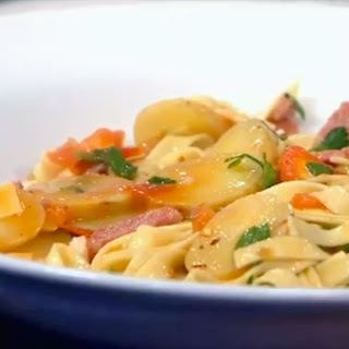 Salami Fettuccine