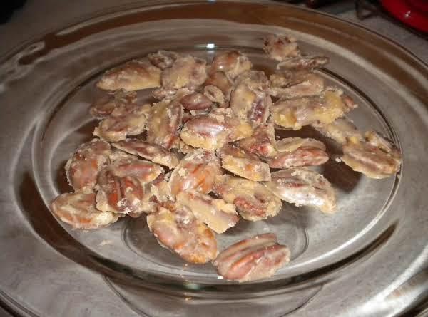 Praline Coated Pecans