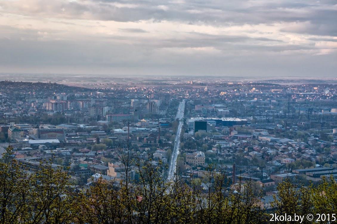 Фотография Львова с Замковой горы