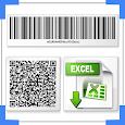 QR & Barcode spreadsheet : Scan QRcode & barcode