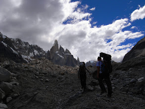 Photo: Approaching Cerro Torre in Patagonia