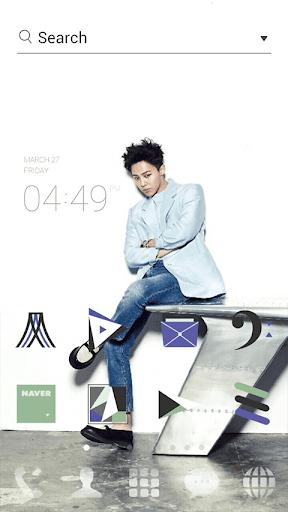 Bigbang2015 GDドドルランチャーテーマ