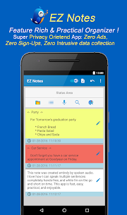 EZ Notes – Notepad notes, voice notes, to-do notes 5.106 APK Mod Latest Version 1