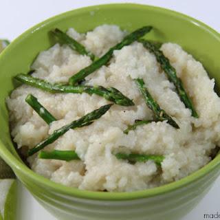 Crockpot Asparagus Risotto