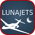 LunaJets Private Jets Charter icon