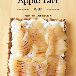 Poached Apple Tart.