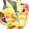 Coloring for Pikuchu Monsters icon
