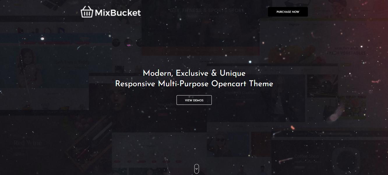 MixBucket - Opencart ecommerce theme