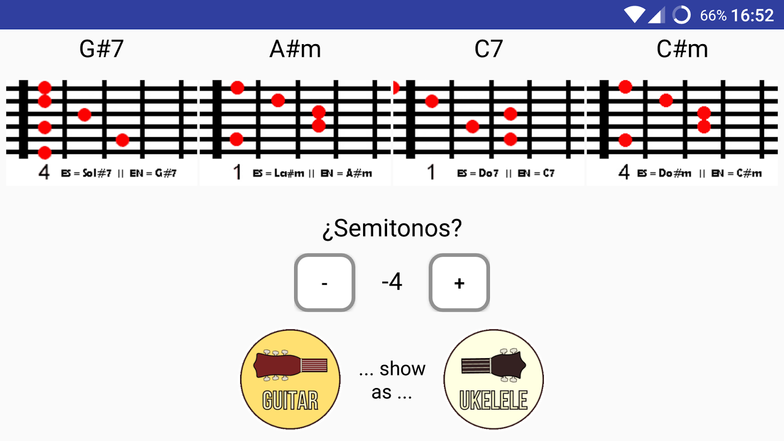 Chords Transposer Free- screenshot