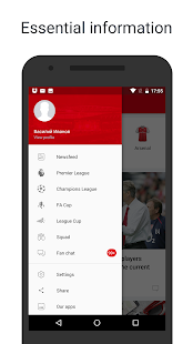 AFC Live — unofficial app for Arsenal FC Fans- screenshot thumbnail