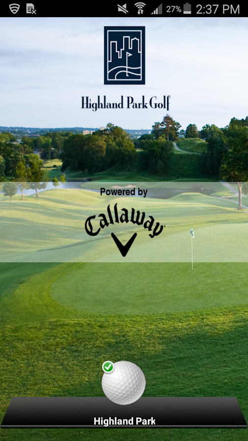 Highland Park Golf Course- screenshot