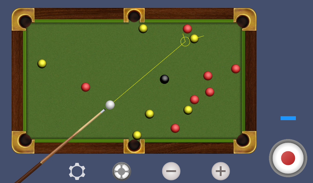 Billiard free- screenshot