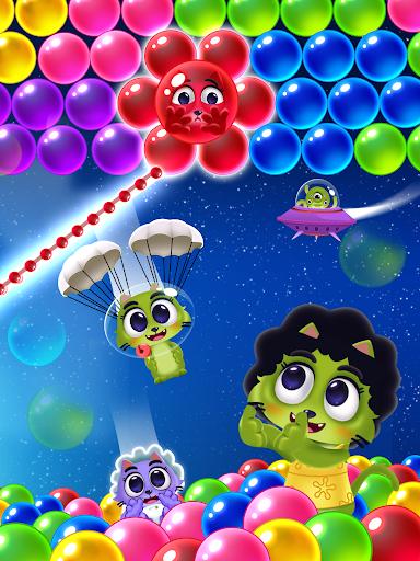 Space Cats Pop - Kitty Bubble Pop Games apktram screenshots 11
