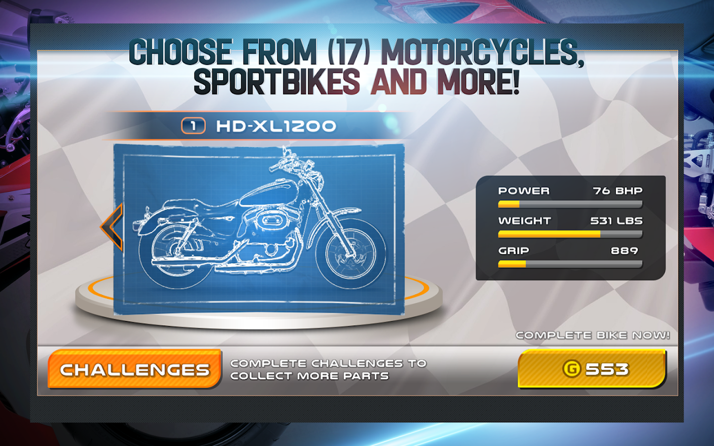 Drag Racing: Bike Edition- screenshot