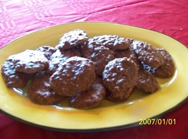 No-bake Cocoa Oatmeal Cookies Recipe
