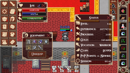 Kakele MMORPG 2.12.5 screenshots 3