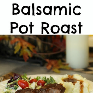 Slow Cooker Balsamic Pot Roast