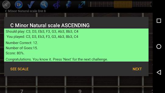 Guitar Scales & Chords Pro v119 MOD APK 5