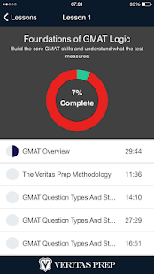 GMAT Prep Course- screenshot thumbnail