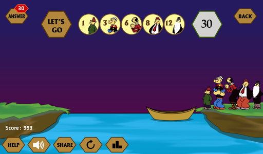 River Crossing IQ - IQ Test 1.4.4 screenshots 7