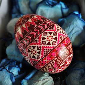 Easter Egg by Anika McFarland - Public Holidays Easter ( colorful egg, easter egg, painted egg, egg, ukrainian egg,  )