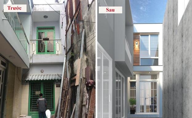 cải tạo nhà phố cũ 1